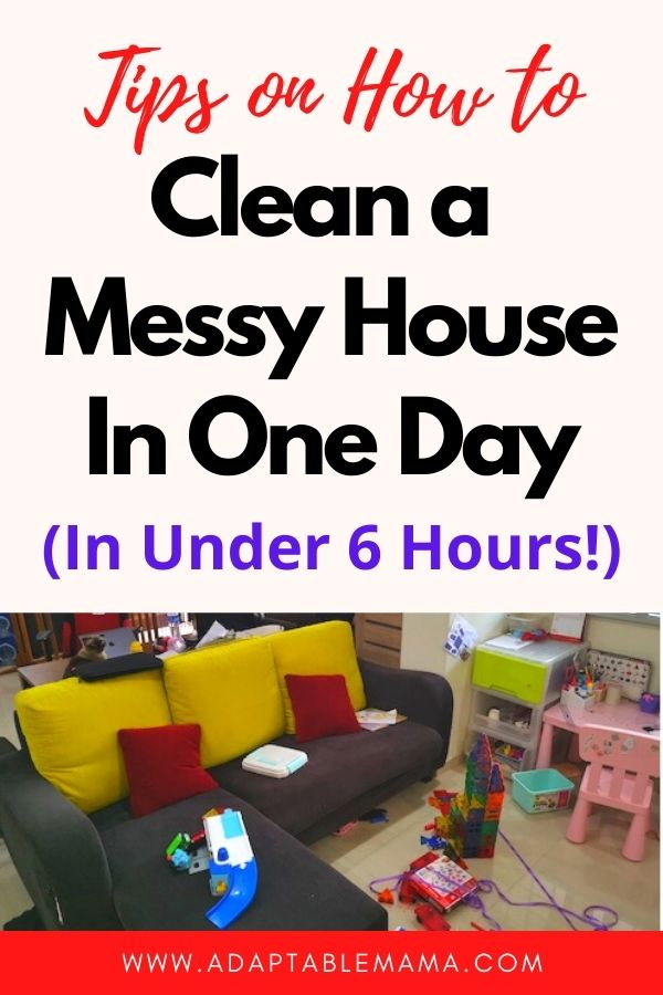 how to clean a messy house in one day_4