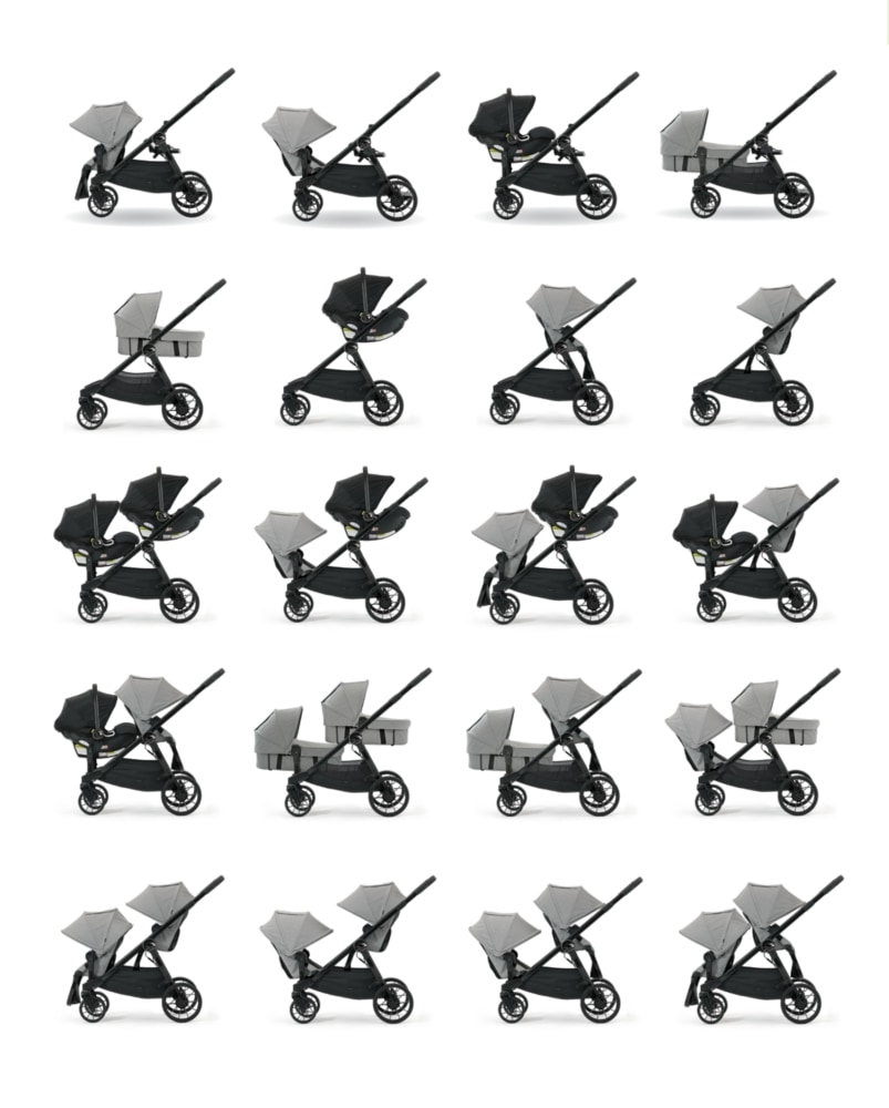city select double stroller vs uppababy vista