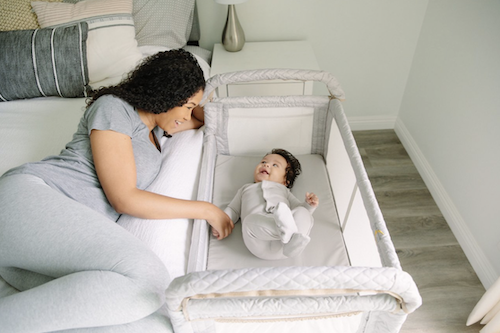 crib alternatives for small spaces - bedside sleeper